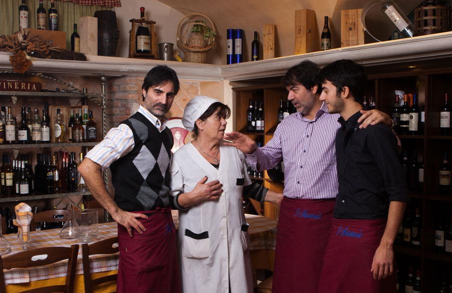 Ristorante cucina romana tipica pizzeria forno a legna for Cucina romana tipica